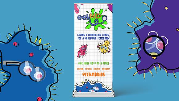 EEK MD Trade Show Banner