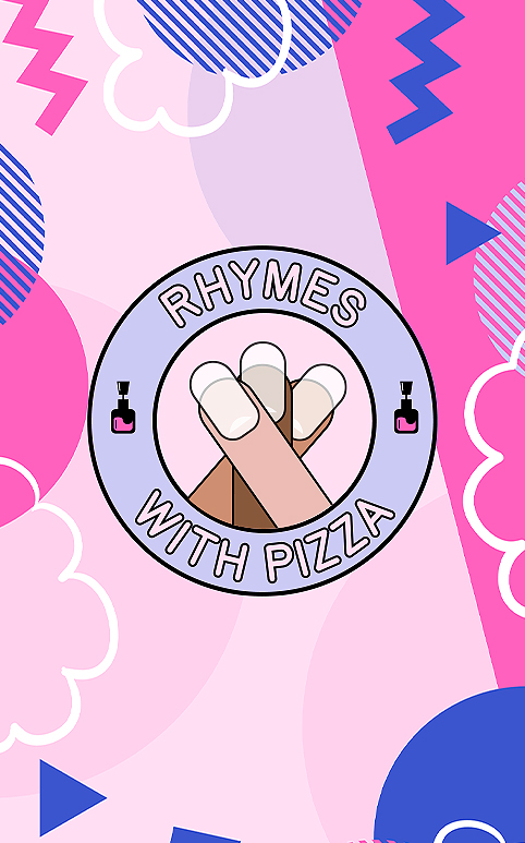 Rhymes With Pizza – Nail Workshop Social Media Advert