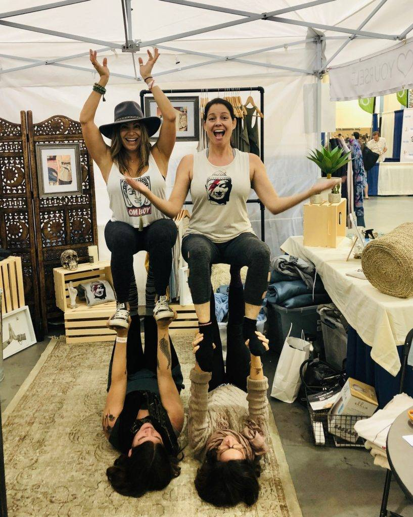 Yoga Expo 2019 LA - Go OM Yourself Pop Up Exhibit