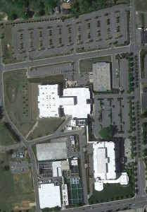 Aerial Courthouse
