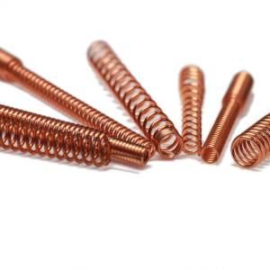 圓線螺旋彈簧,抉懋使用CNC萬能彈簧機可打樣量產各類彈簧。