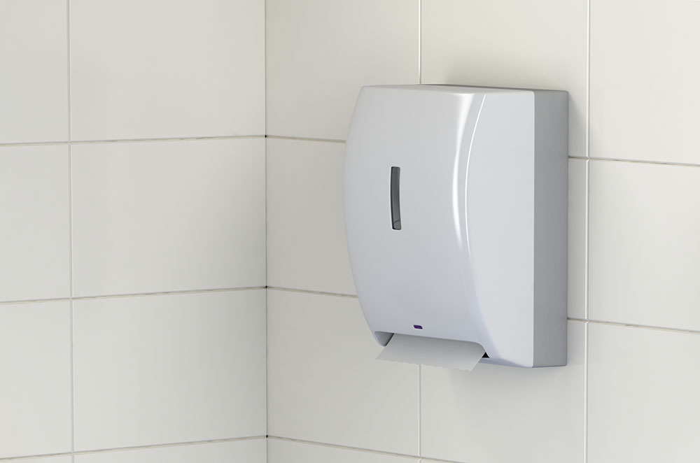 Office Bathroom Towel Dispenser Batteries
