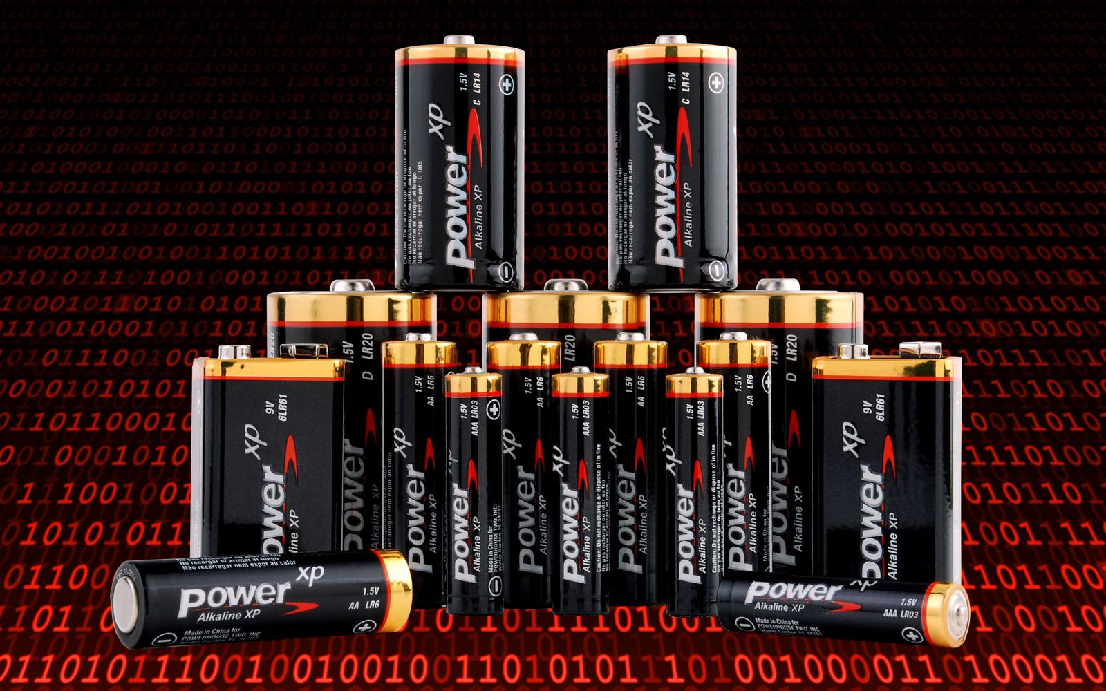 Alkaline Battery Family
