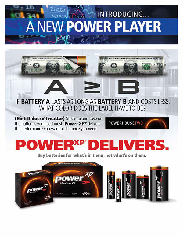 Power Player Flyer