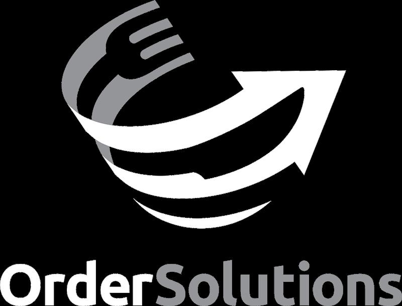 Order Solutions Logo White