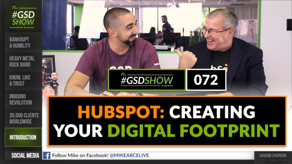 HubSpot: Creating Your Digital Footprint