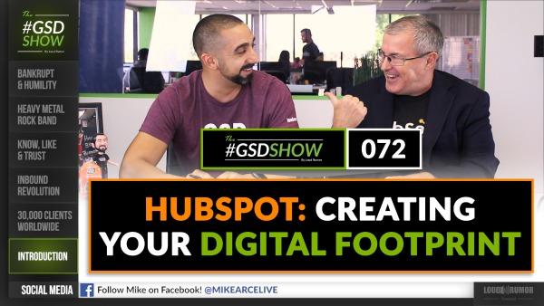 HubSpot: Creating Your Digital Footprint