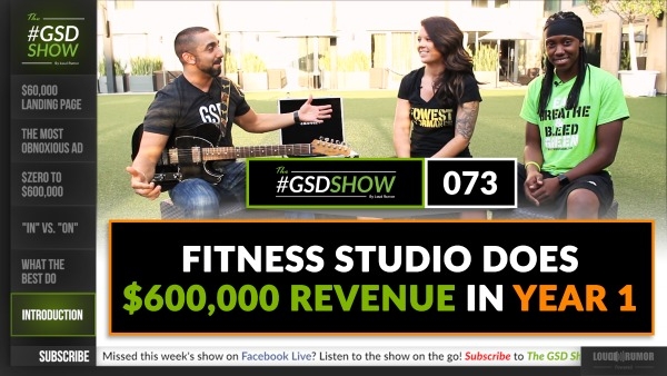 Fitness Studio Does $600,000 in Revenue in Year 1