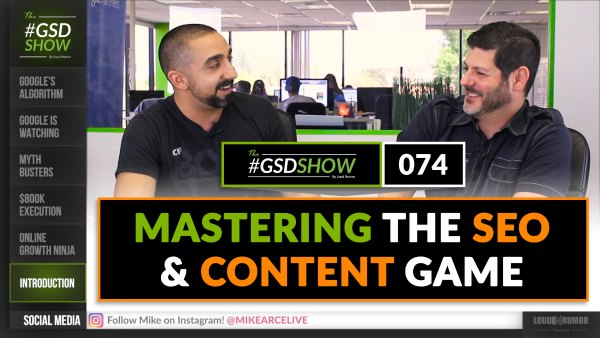 Mastering the SEO and Content Game