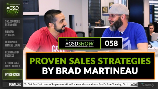 Brad Martineau: Proven Sales Strategies