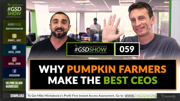 Mike Michalowicz: Why Pumpkin Farmers Make the Best CEOs