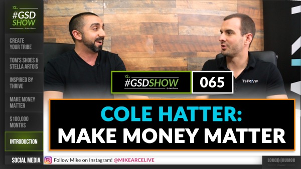 Cole Hatter: Make Money Matter