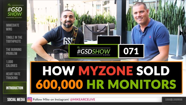 How MYZONE sold 600,000 Heart Rate Monitors