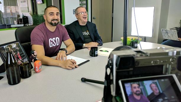 Mike Arce and Dan Tyre of HubSpot