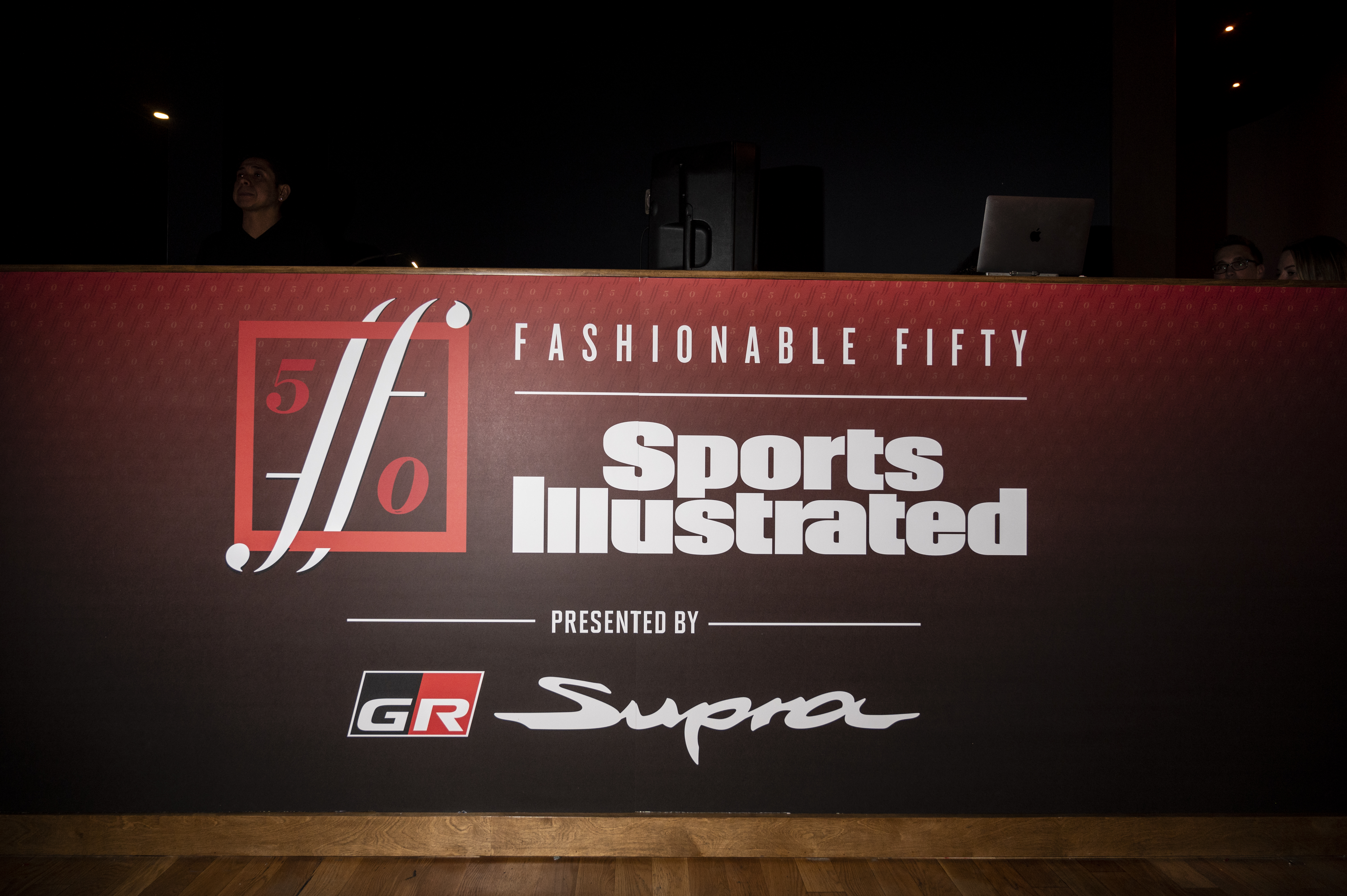 Sports Illustrated Fashionable 50 Step and Repeat Banner