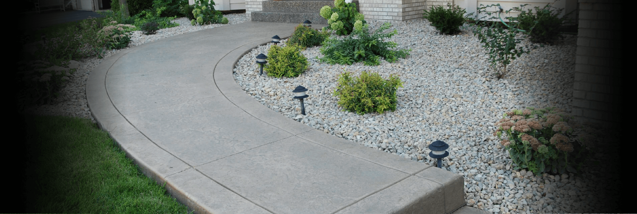 Standard Stamped Concrete Walkway Lakeville MN
