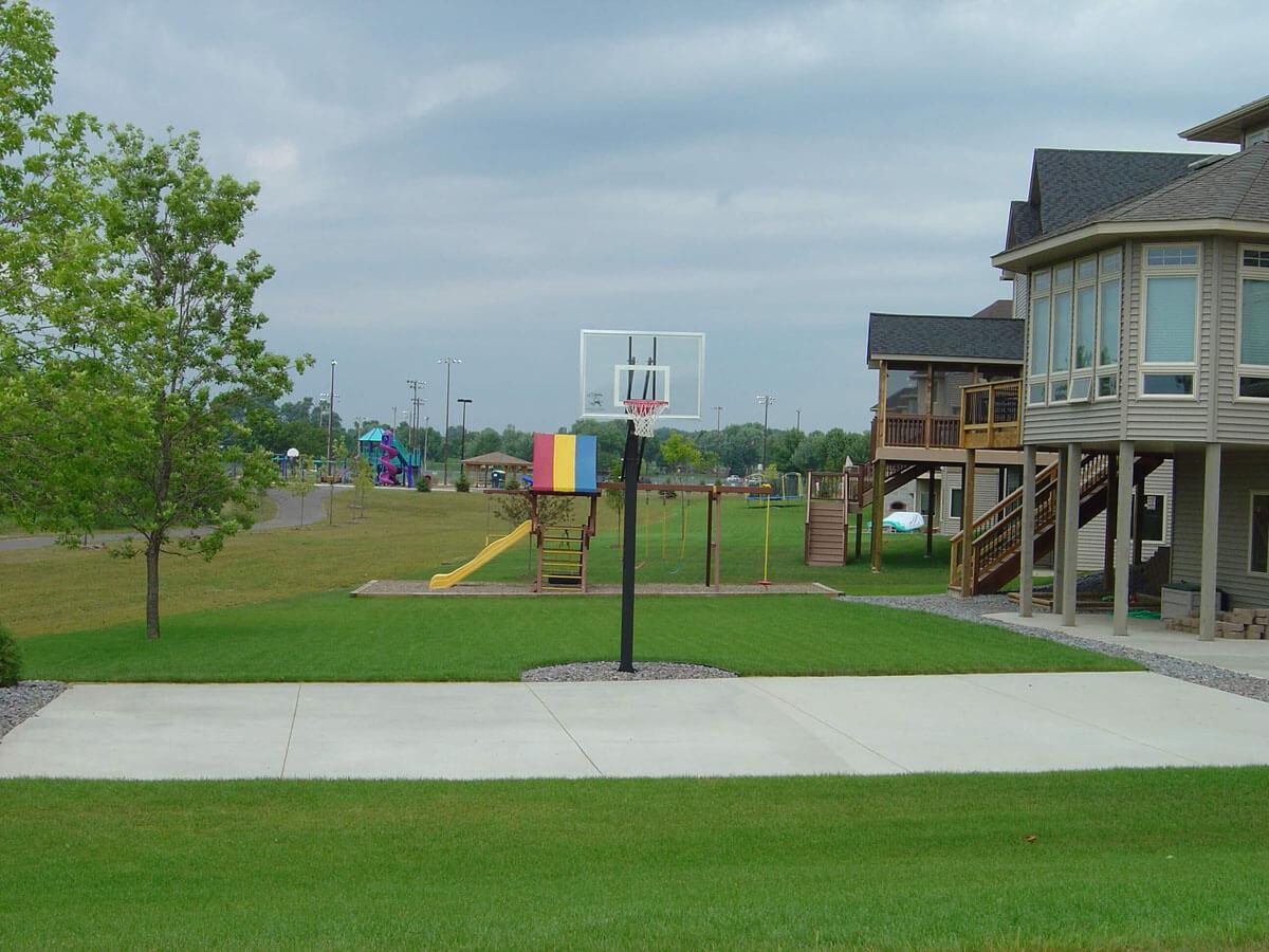 Concrete Athletic Court Lakeville MN
