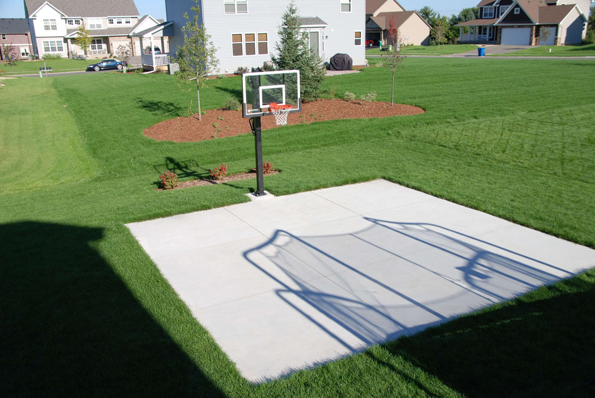 Standard Concrete Athletic Court Apple Valley MN