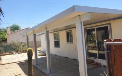 Aluminum patio covers California