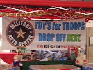Military Auto Center – Toys for Troops