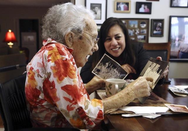 Oldest U.S. female military veteran dies