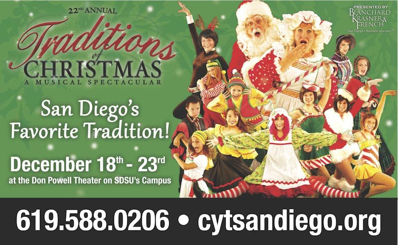 CYT San Diego Presents the 22nd Annual Traditions of Christmas