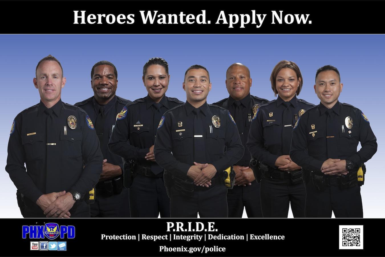 Phoenix Police Department – Heroes Wanted!
