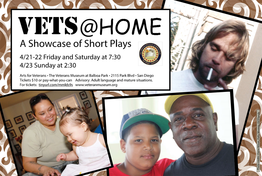 """""""Vets at Home: A Showcase of Short Plays""""  04/21-04/22"""
