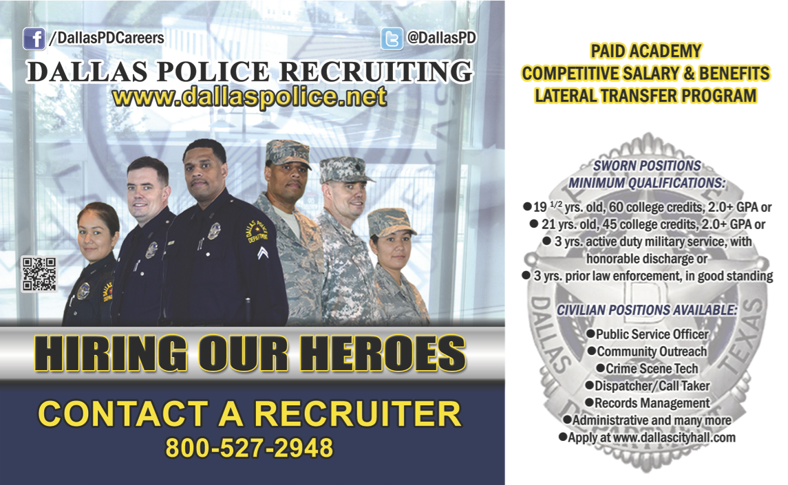 Dallas Police Department – Hiring Our Heroes
