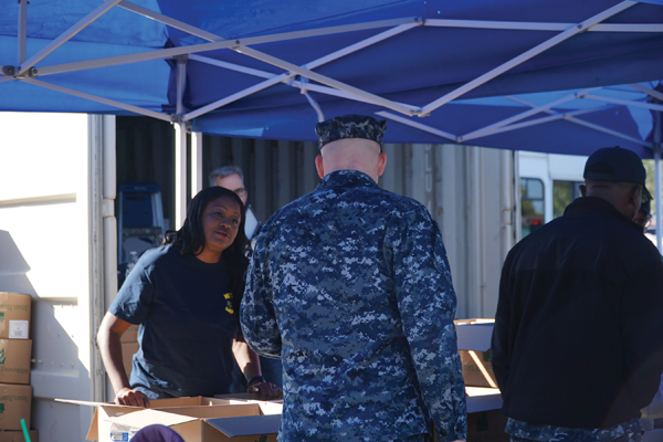 CENTURY CLUB OF SAN DIEGO / FARMERS INSURANCE SUPPORT 153 MILITARY FAMILIES