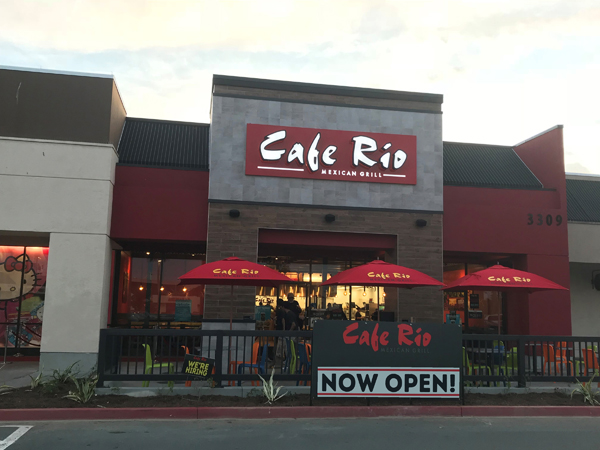 Cafe Rio offers a Military Monday!