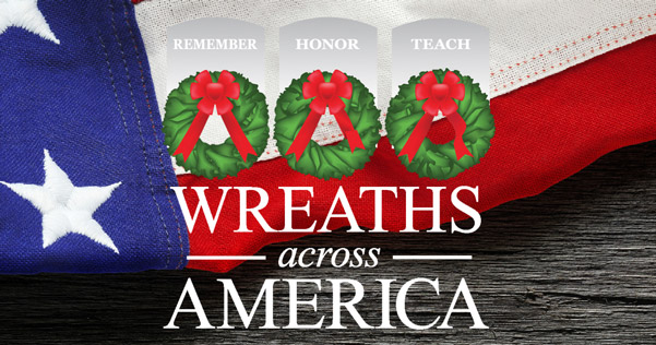 Holiday Wreath-laying to Honor Veterans