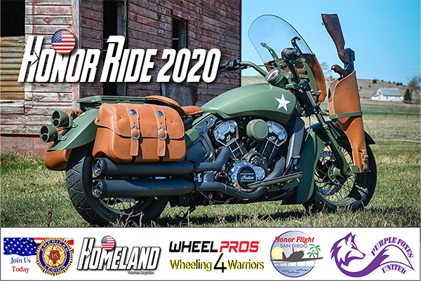 HONOR RIDE 2020 – SAVE THE DATE: Sunday, May 10, 2020