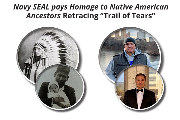 Navy SEAL pays Homage to Native American Ancestors