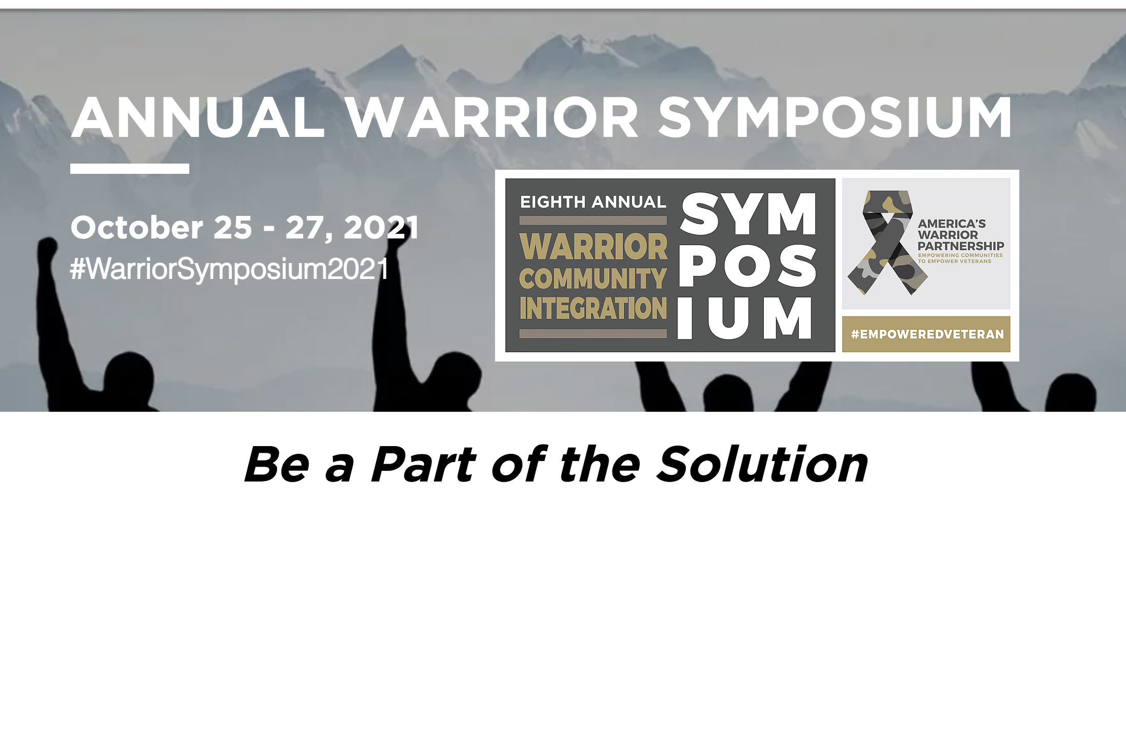 2021 Warrior Community Integration Symposium