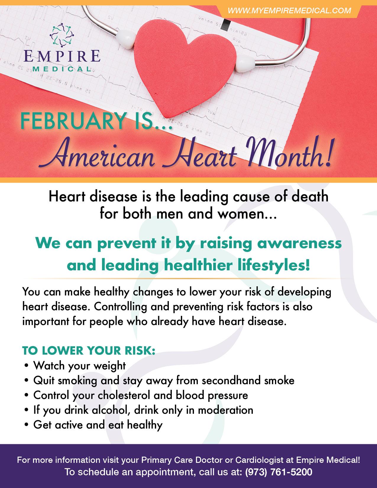 February Health Awareness 2019