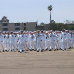 More Seabees on the parade ground