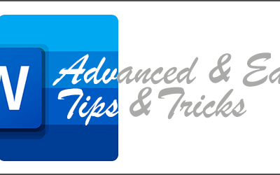Advanced and easy tips for Word that will make you a document master