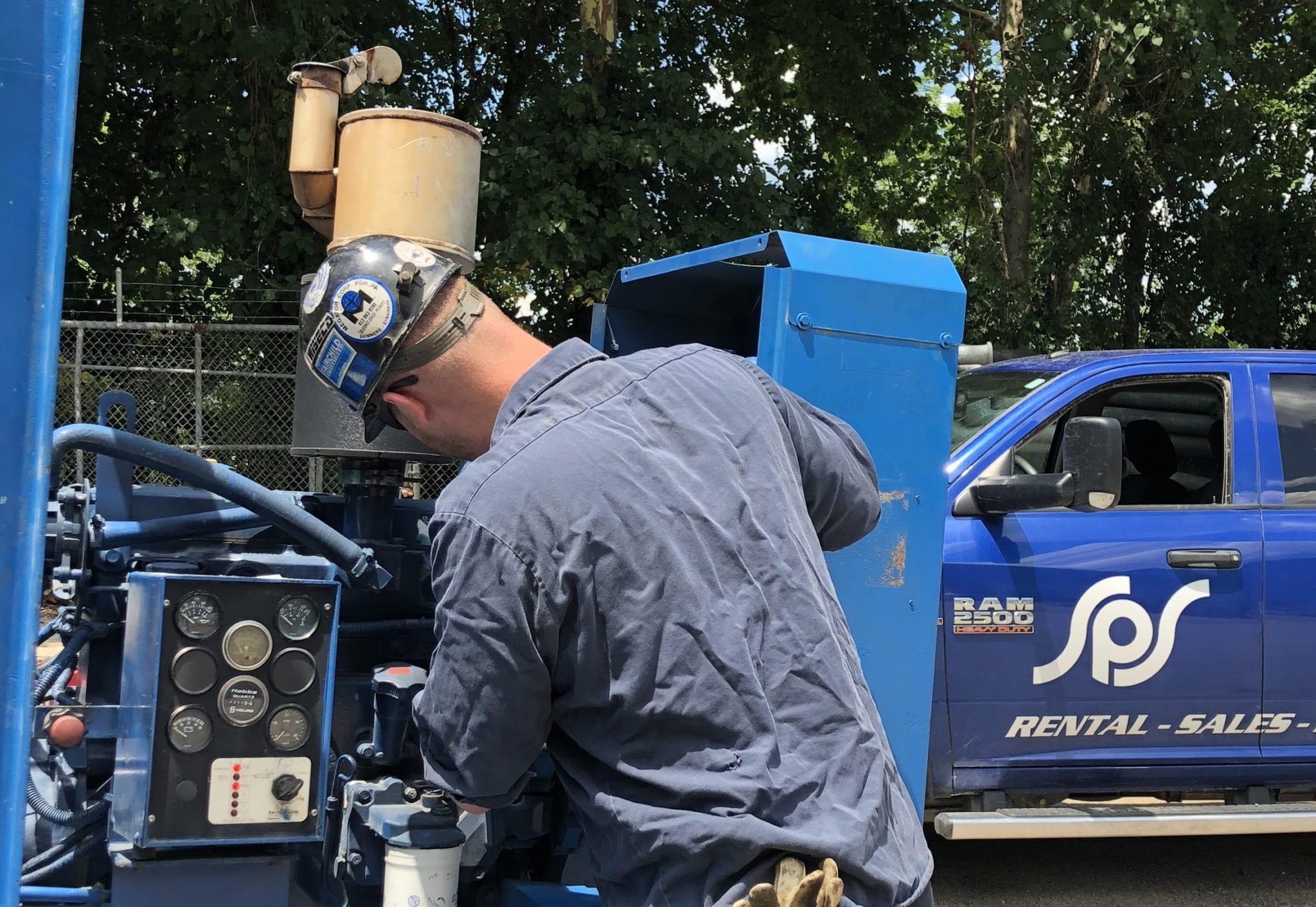 30,000 gallon pump testing facilities
