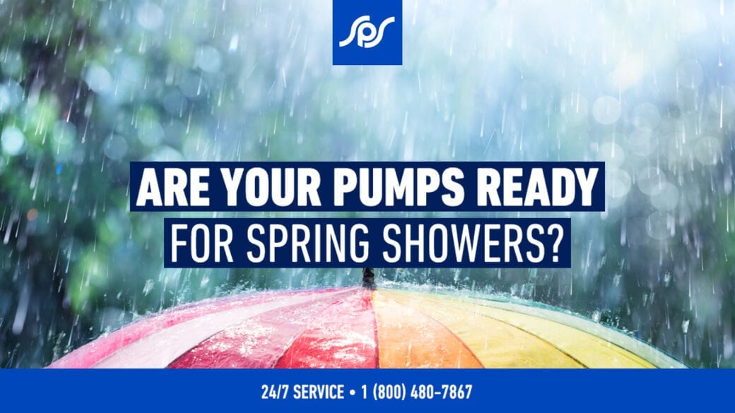 Are your pumps ready for spring showers? Make sure with our Preventative Maintenance Checklist!