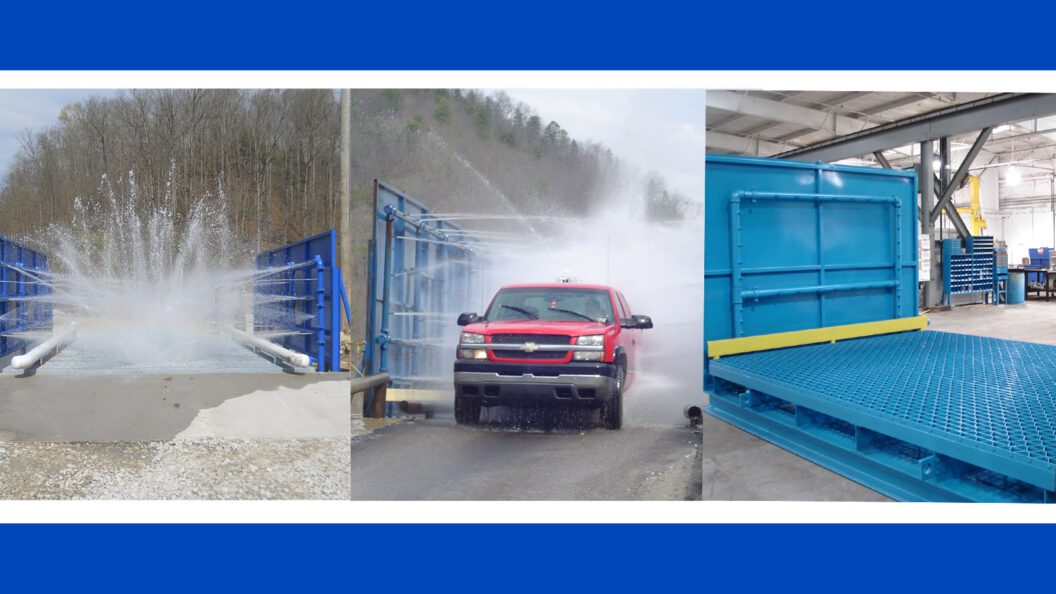 Picture: Service Pump and Supply creates custom truck washes.