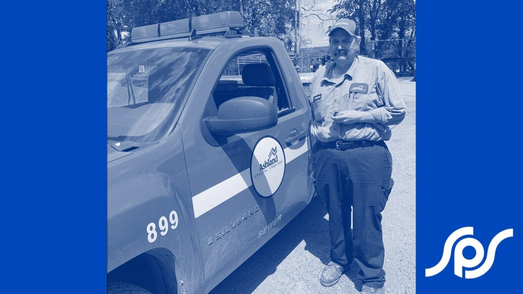 Picture: For more than 30 years, Wastewater Collections Superintendent Bruce Worthington has proudly served the City of Ashland.