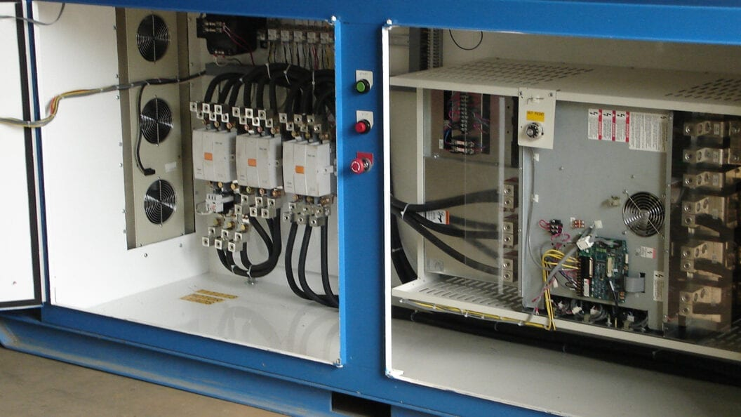 Photo: SPS technicians design and install custom control panels.