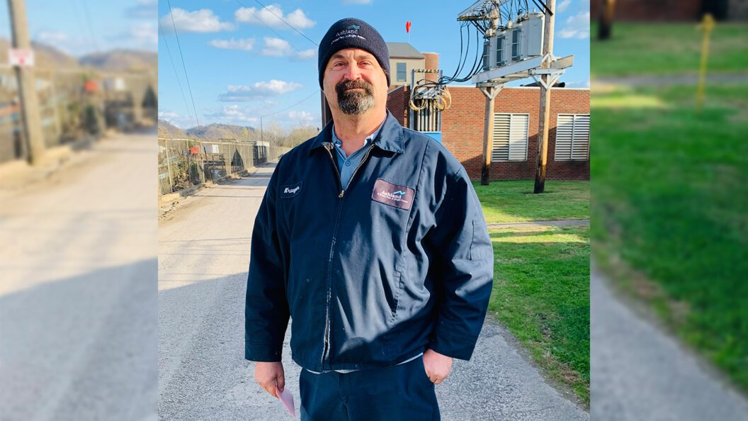 City of Ashland Wastewater Plant Manager David Krueger