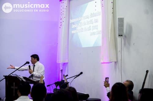 Equipos de Sonido para Iglesias Cristianas, Musicmax Mérida