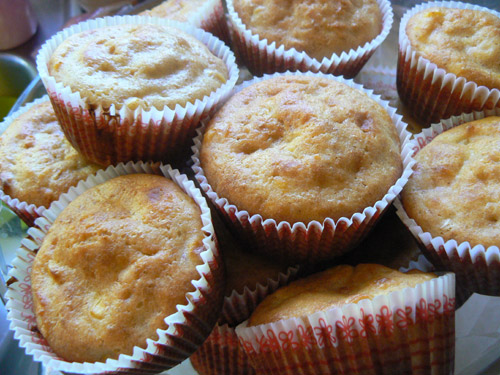 Cornbread Muffins – made with real corn