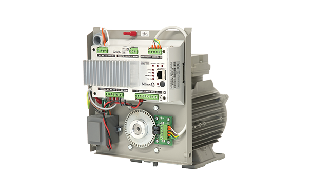 The series MTR-8000 consists of motors for real bells