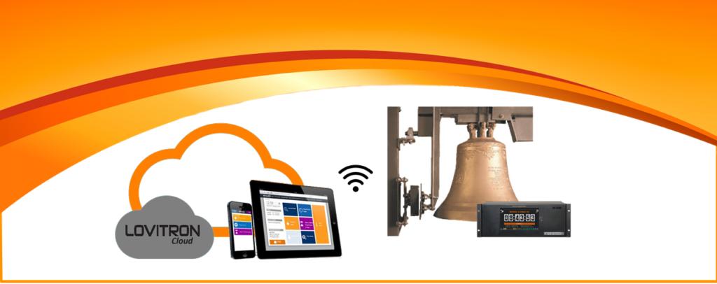 LovitronCloud es una app que permite el control de los carillones electronicos VS3100 y VS3200.