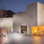 Fireplace with wood storage | 2003 ALCA Award of Distinction