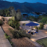 Path, step and up lights at outdoor living area | 2008 ALCA Judges Award
